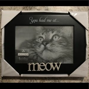 You Had Me At Meow Picture Frame